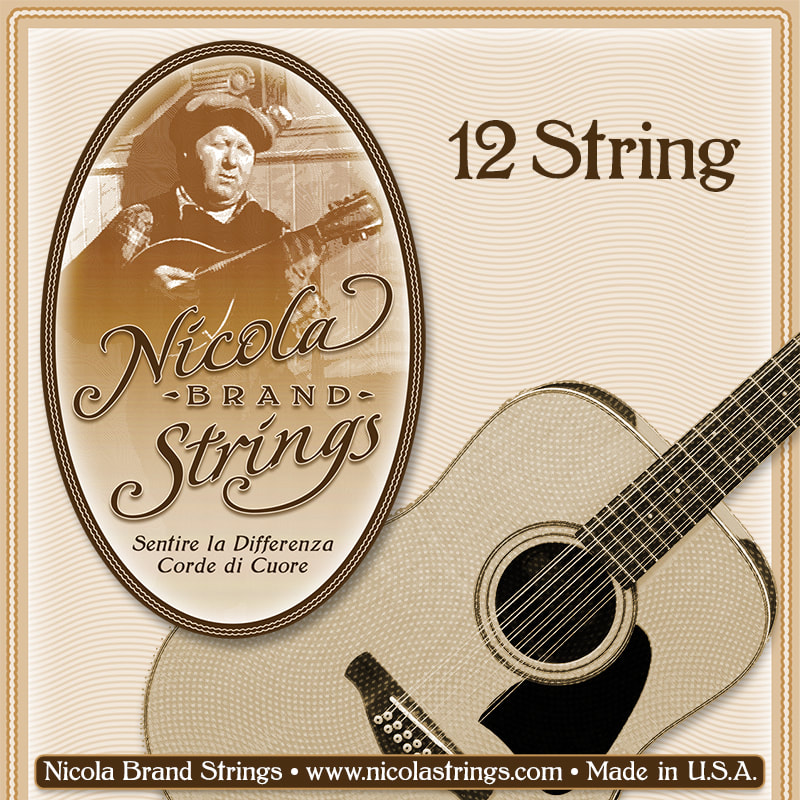 12 String Package Front