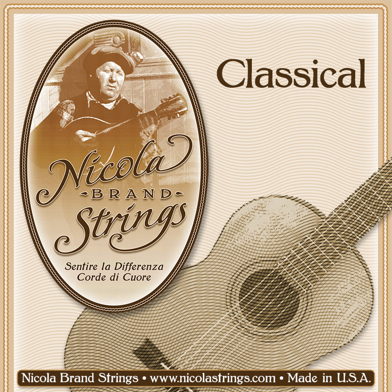 Classical Guitar Sting Package Front